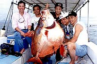 Big Game Fishing around Phuket