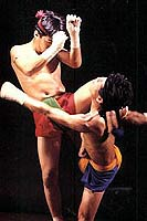Muay Thai or Thai Boxing.